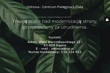 Centrum pielęgnacji i depilacji laserowej - Odnova - Dietetyk Kępno