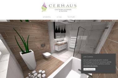 Cerhaus. Centrum Wyposażenia Łazienek - Architekt wnętrz Głogów
