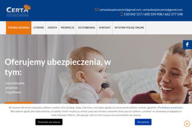 Certaubezpieczenia - Ubezpieczenia OC Sosnowiec