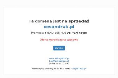 Cesan Druk - Wizytówki Tarnów