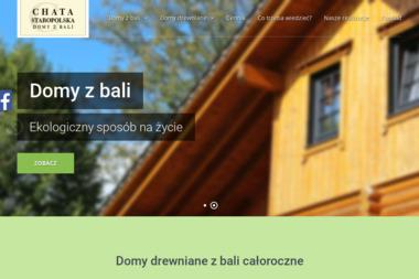 Chata Staropolska. Domy z bali, domy drewniane, budowa domów - Firma Budująca Domy Szkieletowe Lubartów