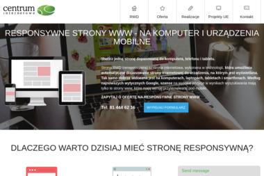 Centrum Internetowe-Strony Internetowe - Pozycjonowanie w Google Lublin