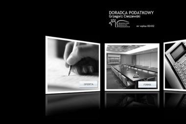 Doradztwo Podatkowe Cieszewski. Grzegorz Cieszewski - Prowadzenie Ksiąg Rachunkowych Nowy Dwór Mazowiecki