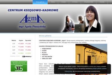 """CENTRUM KSIĘGOWO-KADROWE """"AgmA"""" - Biuro Księgowe Wysokie Mazowieckie"""