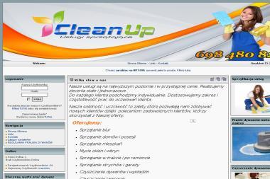 CleanUp - Usługi sprzątające - Sprzątanie biur Jędrzejów