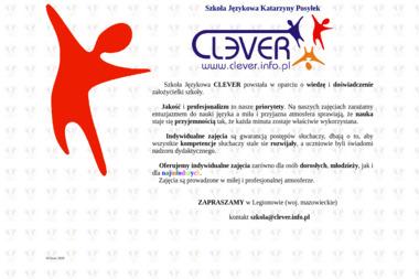 Clever. Szkoła Językowa Katarzyny Posyłek - Nauka Angielskiego Piaseczno