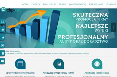 Clip-Art Radosław Balcerzak. Strony internetowe - Poligrafia Wieleń