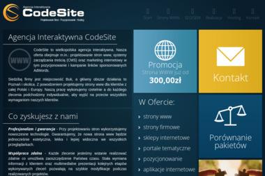 CodeSite. Agencja Interaktywna - Pozycjonowanie stron Buk