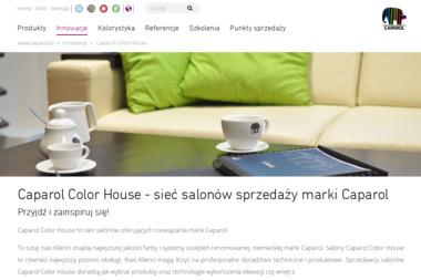 Caparol Color House - Budo Max - Projektowanie Mieszkań Elbląg