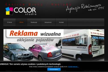 Studio Reklamy i Grafiki Komputerowej Color - Drukarnia Wałbrzych