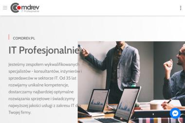 Comdrev.Pl Sp. z o.o. Integrator Systemów Informatycznych - Strona Internetowa Szczecinek