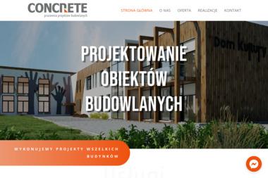 Concrete. Pracownia Projektów Budowlanych Ewa Zagórzańska - Adaptacja projektów Człuchów