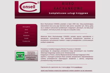 Biuro Rachunkowe CONSEIL - Prowadzenie Ksiąg Rachunkowych Nowy Dwór Mazowiecki