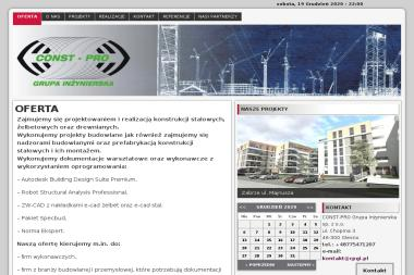 Alicja Wiktor Winiarska Const Pro Grupa Inżynierska - Architekt Olesno