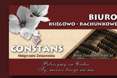 Biuro Księgowo Rachunkowe Constans Małgorzata Żelazowska - Prowadzenie Kadr i Płac Chobot