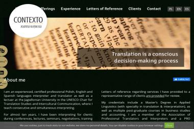 Pracownia Tłumaczeń Contexto - Tłumacze Brzeg