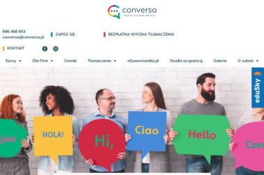 Szkoła Języków Obcych Conversa - Kurs niemieckiego Toruń