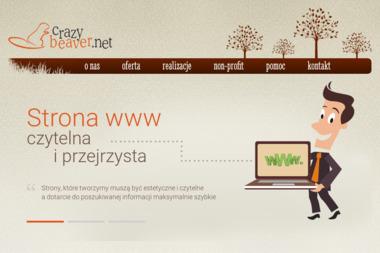 Crazybeaver.net - Pozycjonowanie stron Szczecin