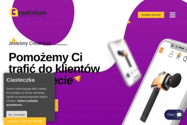 Creativium. Projektowanie stron www, projektowanie aplikacji internetowych - Strony internetowe Łańcut