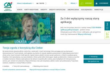 Credit Agricole Bank Polska S.A. - Kredyt samochodowy Częstochowa