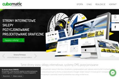 CubeMatic - Projektowanie stron i sklepów internetowych - Pozycjonowanie stron Sulejówek