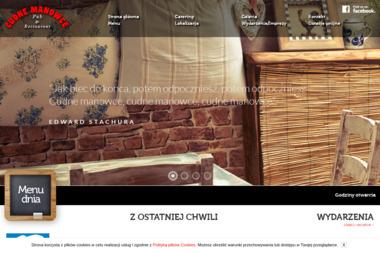 Restauracja Cudne Manowce - Gastronomia Olsztyn