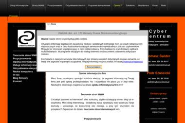 Cyber Centrum - Pozycjonowanie stron Legnica