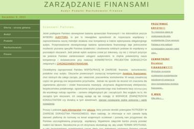 Danuta Tryba - Finanse Tczew