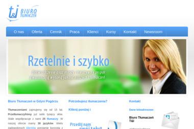 Biuro Tłumaczeń T&I - Tłumacze Pogórze