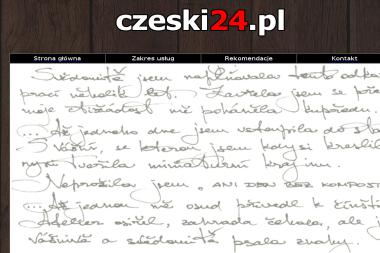 Czeski24 Pl Zbigniew Romankiewicz - Tłumacze Złoty Stok