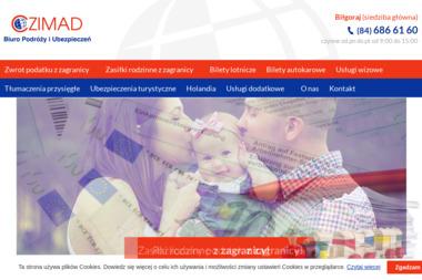 Biuro Podróży i Ubezpieczeń Czimad - Tłumacze Biłgoraj