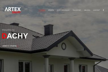 ARTEX, pokrycia dachowe, okna dachowe, blachodachówka - Okna PCV Wiązowna