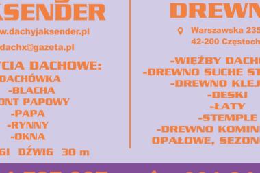 Dach-Komplex Jaksender Adrian - Dachy Częstochowa