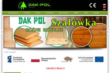 Dak Pol Zakład Drzewny w Czarnej Białostockiej Sp. z o.o. - Tarcica Dębowa Czarna Białostocka