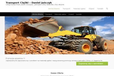 Transport Ciężki - Daniel Jańczyk - Firma transportowa Jastrzębie-Zdrój