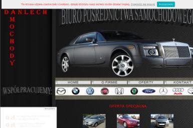 Danlech-Samochody Pośrednictwo Samochodowe - Kredyt samochodowy Częstochowa
