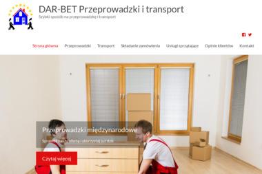 Przeprowadzki i transport DAR-BET TRANS - Przeprowadzki Siemianowice Śląskie
