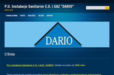 P u Instalacje Sanitarne C O i Gaz Dario Dariusz Sudak - Hydraulik Malbork