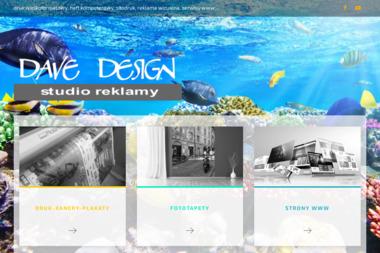 Dave Design FHU Dorota Klarecka. Tworzenie Stron Internetowych - Strona Internetowa Pasłęk