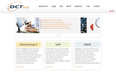 DCT24 Łukasz Bajkowski. Obsługa informatyczna firm, naprawa komputerów - Agencja interaktywna Ostrołęka