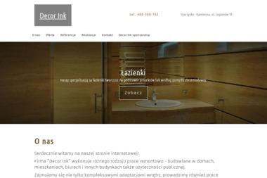 DecorInk - Architektura Wnętrz Kolno