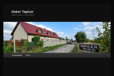 Dekor Tapicer Jacek Blajda - Tapicer Gdańsk