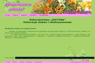 Justyna Dekoratorstwo Justyna Pepaś - Projekty Wnętrz Kielce