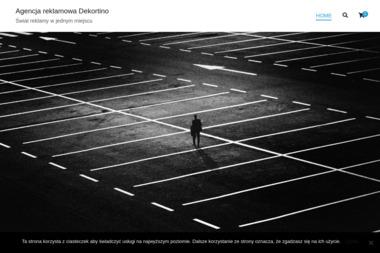 Agencja Reklamowa Dekortino. Wizytówki, ulotki, reklama - Konstrukcje Stalowe Inowrocław