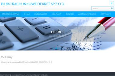 Biuro Rachunkowe DEKRET Sp. z o.o. - Biuro rachunkowe Tarnowskie Góry