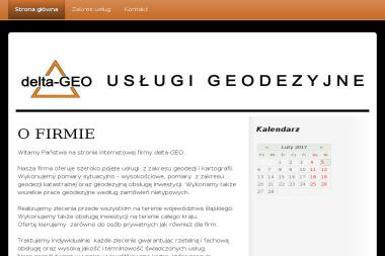 Delta-Geo Alina Trefon-Pierończyk. Usługi geodezyjne - Geodeta Bobrowniki