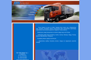 Przedsiębiorstwo Handlowo Usługowe Der Trans Mariusz Derlatka Lidia Derlatka Łukasz Derlatka Spółka - Transport Świebodzin