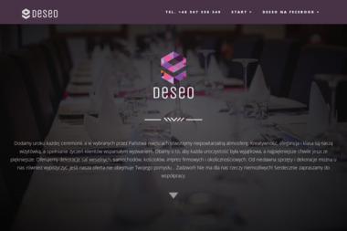 Deseo Studio Dekoracji Imprez Teresa Urbańska - Aranżacje Wnętrz Chojnice