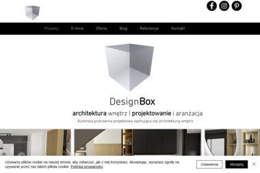 Designbox Marta Bednarska - Architekt wnętrz Lubin