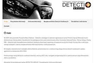 Prywatne Biuro Śledcze Detectio Wydział Zamiejscowy w Bydgoszczy - Agencja Detektywistyczna Bydgoszcz